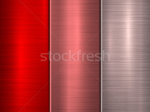 Red Technology Metal Background Stock photo © molaruso