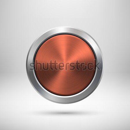 Abstract Circle Button Template Stock photo © molaruso