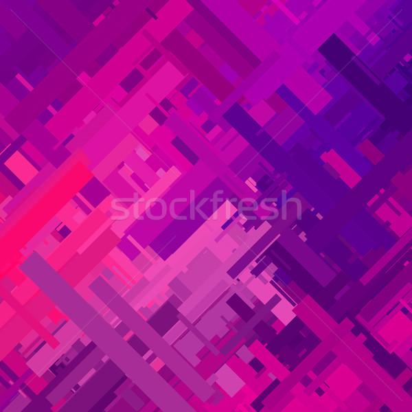 紫色 効果 抽象的な テクスチャ ランダム 色 ストックフォト © molaruso