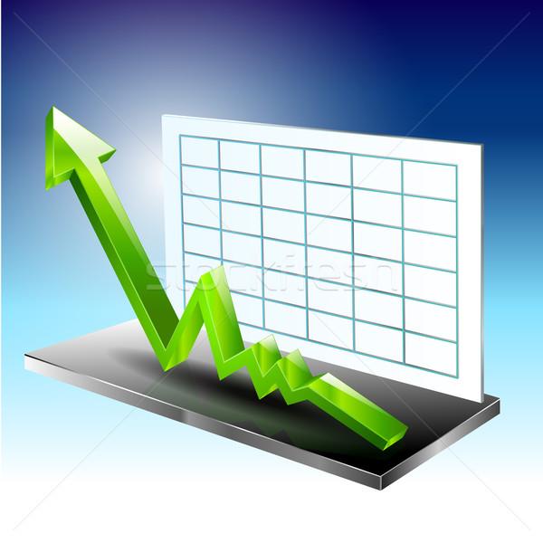 Foto d'archivio: Grafico · facile · soldi · finanziare · corporate · mercato