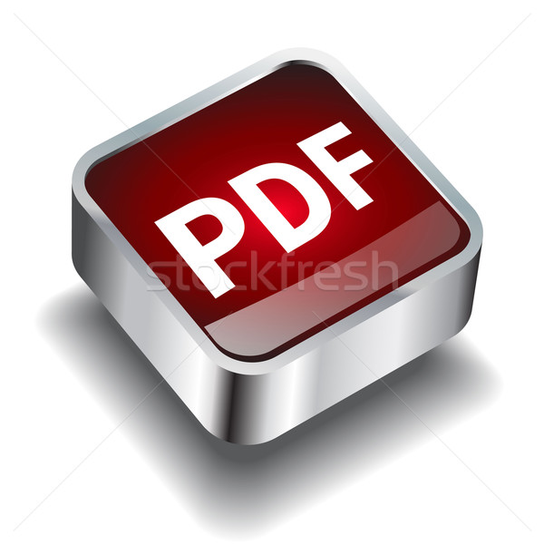 pdf download icon button internet Stock photo © mOleks