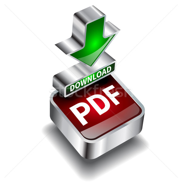 pdf download icon button internet document Stock photo © mOleks