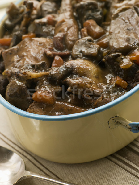 Winter Game Casserole In a Casserole Dish Stock photo © monkey_business