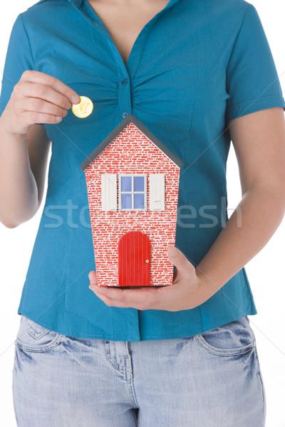 Saving For A House Stock photo © monkey_business
