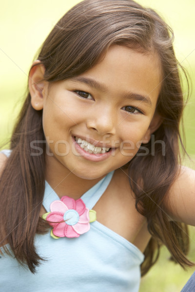 Portrait Of Young Girl In Park Stock photo © monkey_business