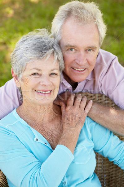 Portrait of senior couple Stock photo © monkey_business