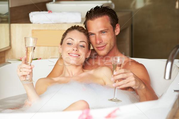 Точно особенно желание вместе принять ванну