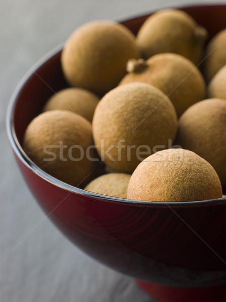 Tigela olho fruto frutas Foto stock © monkey_business