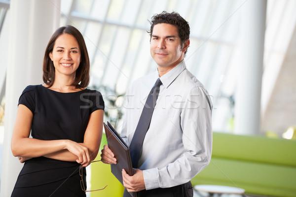 ビジネスマン 実業 会議 オフィス ビジネス 女性 ストックフォト © monkey_business