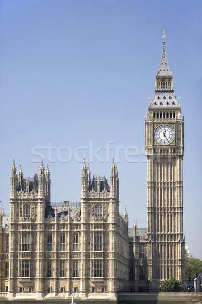 Big Ben And Houses Of Parliament, London, England Stock photo © monkey_business