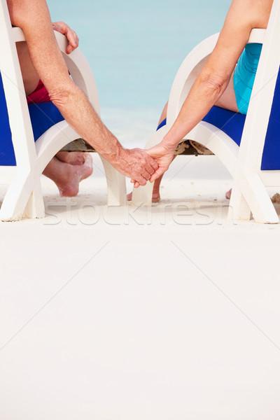 Stockfoto: Holding · handen · liefde · paar