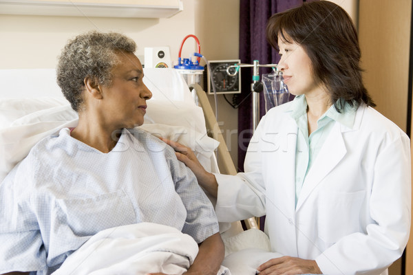 Doctor And Patient Looking At Each Other Stock photo © monkey_business