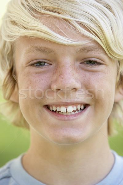 Retrato sonriendo cara ninos adolescente Foto stock © monkey_business