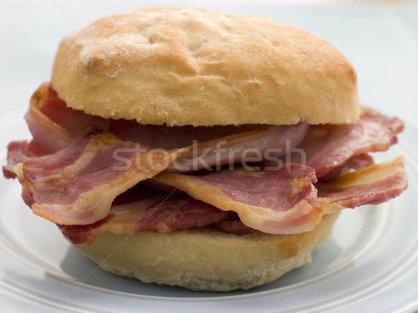 Bacon Bread Roll Stock photo © monkey_business
