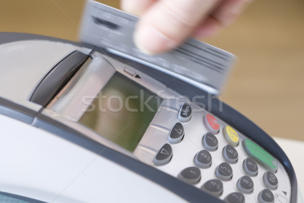 Swiping Credit Card Stock photo © monkey_business