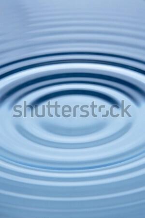 Zdjęcia stock: Koncentryczny · circles · wody · charakter · energii · fali