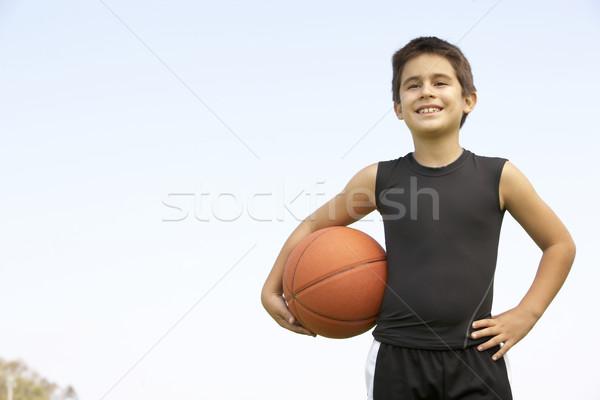 Young Boy Playing Basketball Stock photo © monkey_business