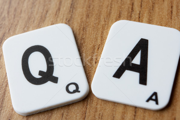 Q & A Stock photo © monkey_business
