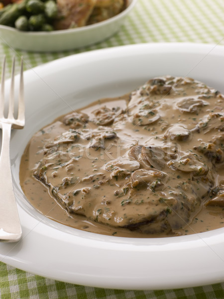 Steak Diane Stock photo © monkey_business