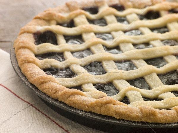 Hot Cherry Lattice Pie Stock photo © monkey_business