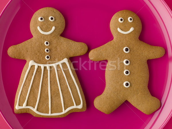 Gingerbread Man and Gingerbread Woman Stock photo © monkey_business