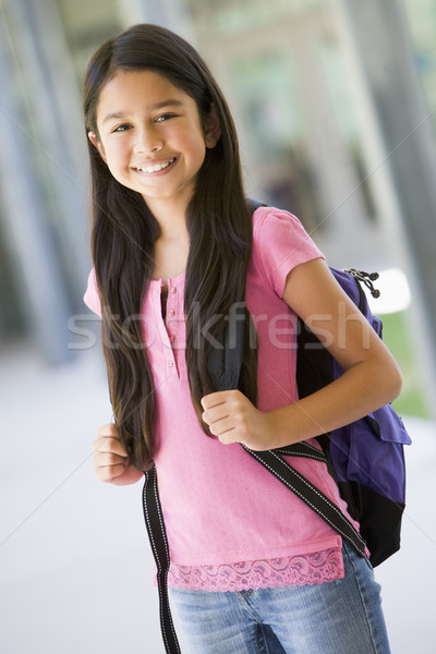 Elementary school pupil outside Stock photo © monkey_business