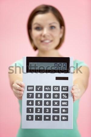 Jovem calculadora crianças criança pessoa Foto stock © monkey_business