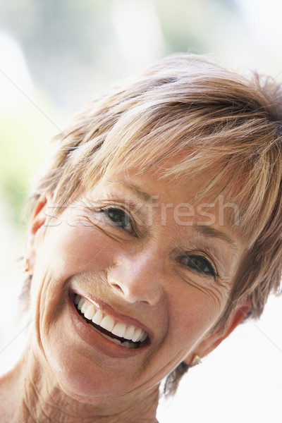 senior,portrait,Woman,Happiness,Happy,Smiling,Fifties,Headshot,P Stock photo © monkey_business