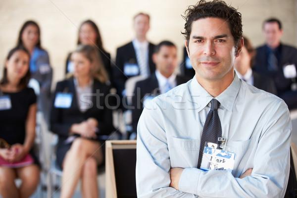 Photo stock: Affaires · présentation · conférence · affaires · homme · hommes
