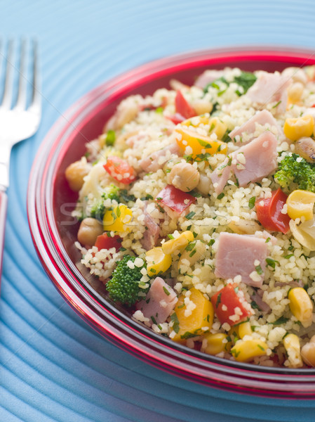 Ham and Vegetable Cous Cous Stock photo © monkey_business