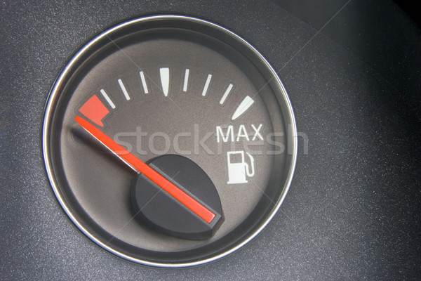 Fuel Gauge Reading Empty Stock photo © monkey_business
