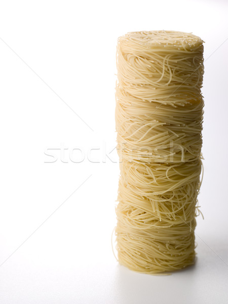 Stack Of Vermicelli Pasta Stock photo © monkey_business