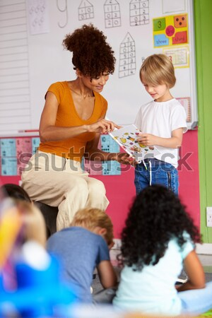 Children in nursery Stock photo © monkey_business