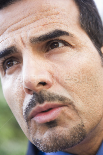 Close-up of businessman's face Stock photo © monkey_business