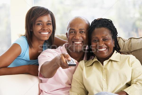 Família juntos homem feliz casa Foto stock © monkey_business