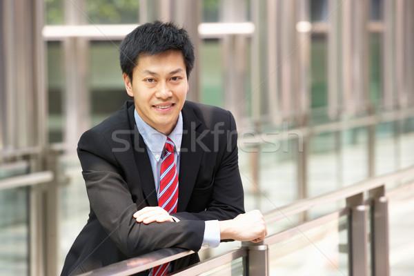 Portre Çin işadamı dışında ofis iş Stok fotoğraf © monkey_business