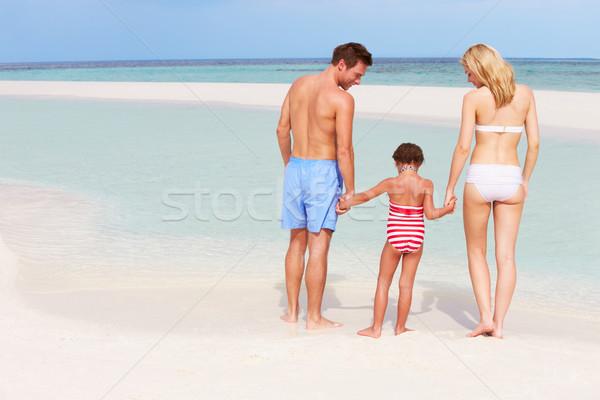 Família mar férias na praia mulher praia Foto stock © monkey_business