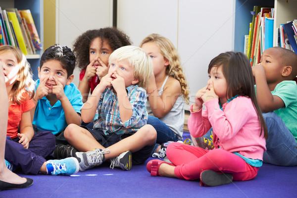 Grupo elemental aula tocar escuela Foto stock © monkey_business