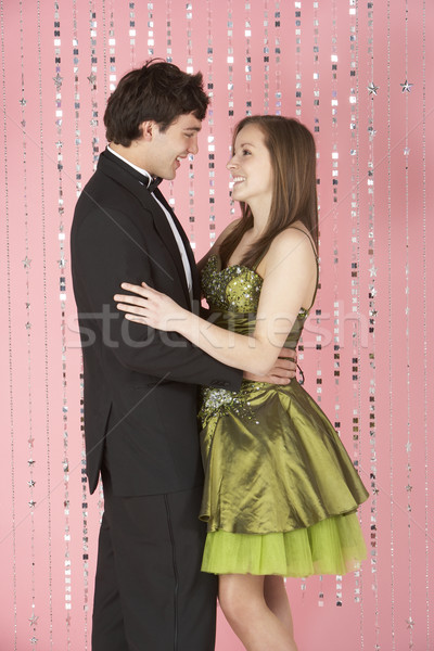 Young Couple Dressed For Party Stock photo © monkey_business