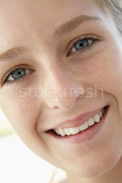 Foto d'archivio: Ritratto · sorridere · ragazzi · adolescente · persona