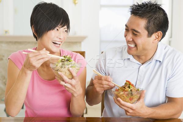 中国食品 食品 男 ホーム ストックフォト © monkey_business