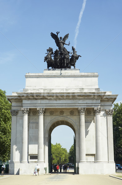 Wellington arco Londres inglaterra cor estátua Foto stock © monkey_business
