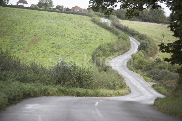 Road Winding Its Way Through The Countryside Stock photo © monkey_business