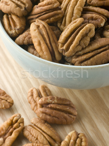 Bowl of Pecan Nuts Stock photo © monkey_business