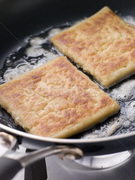 Potato Farls Frying in Butter Stock photo © monkey_business