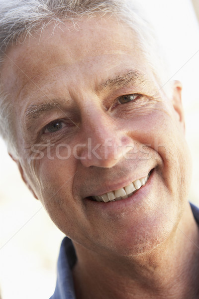 Portrait Of Middle Aged Man Smiling At The Camera Stock photo © monkey_business