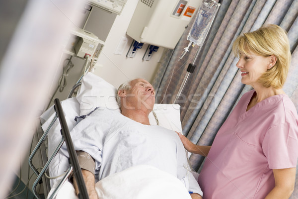 Nurse Caring For Patient Stock photo © monkey_business