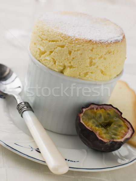Сток-фото: горячей · страсти · фрукты · чате · Печенье · яйца