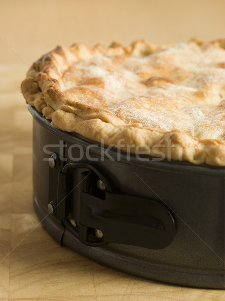 Deep Apple Pie in a Baking Tin Stock photo © monkey_business