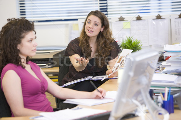 Women having an argument at work Stock photo © monkey_business